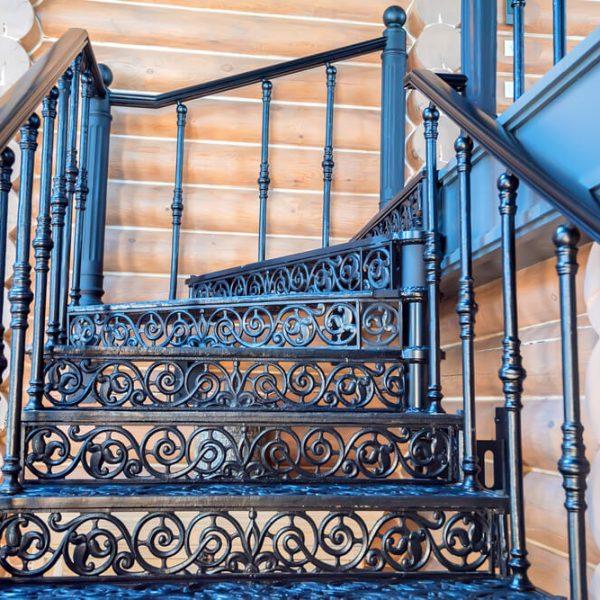 Kovové schody na terasu Bratislava