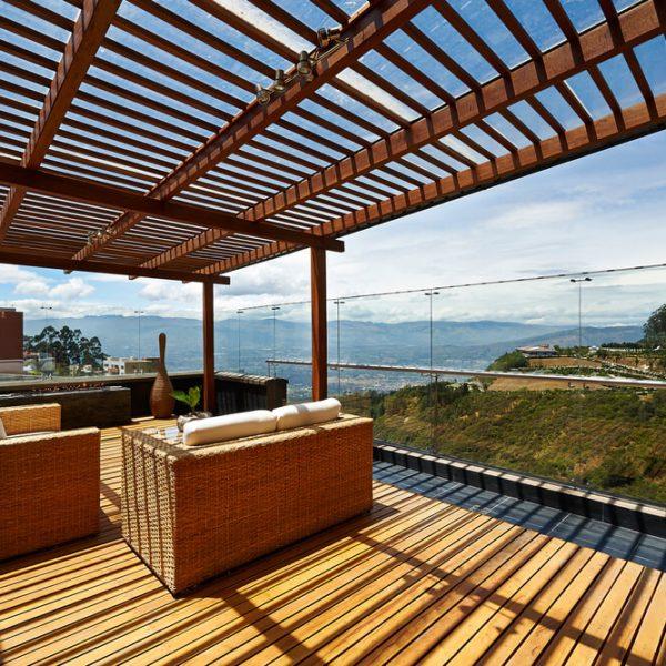 Zastrešenie terasy prekrytie terasy Terasa Snov
